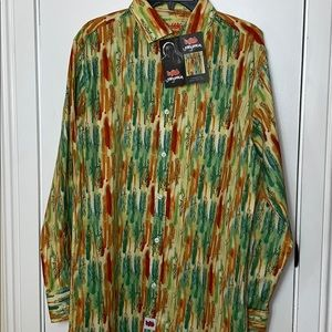 NWT Jerry Garcia size Med. long sleeved shirt